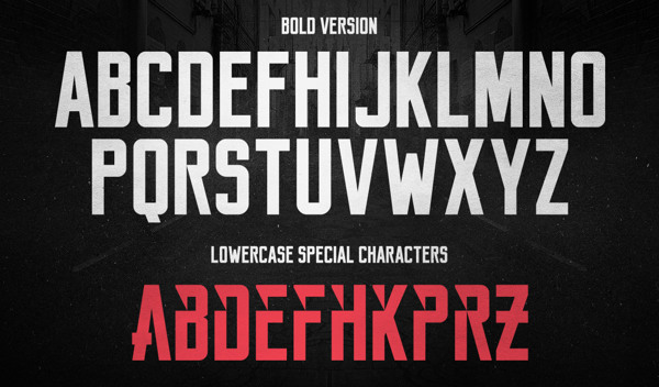 3.Free Font Of The Day  Reckoner