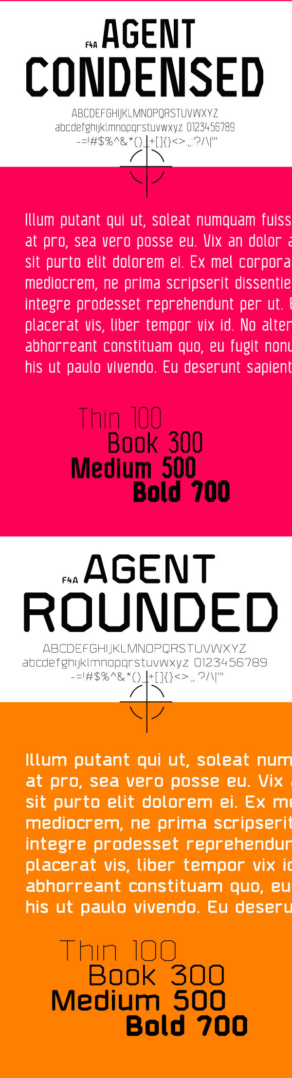 4.Free Font Of The Day  Agent