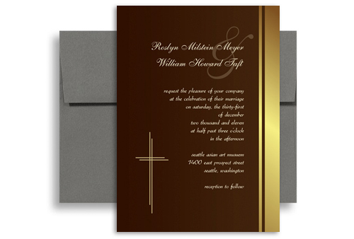 State Wedding Invitations Set Machusetts