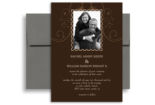 Customise Second Wedding Invitation