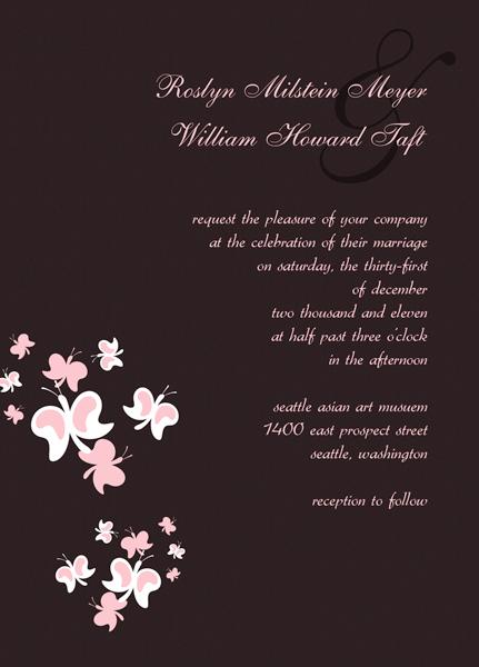 Free Wedding Invitation Card Templates