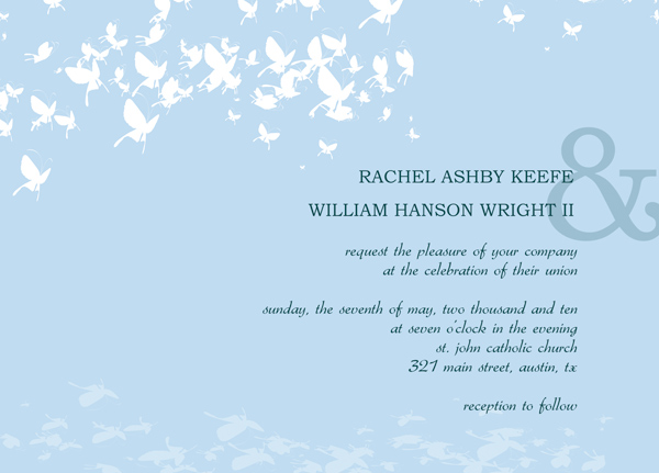 wedding reception card templates free  wedding invitation sample, Wedding invitation