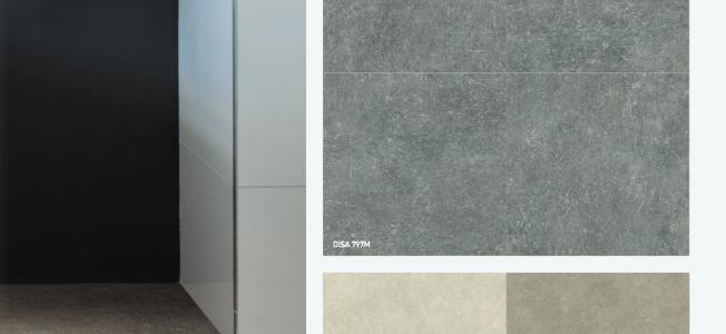 Test Vergleich: Designbelag Fliesen vs. Mineralische Fliesen