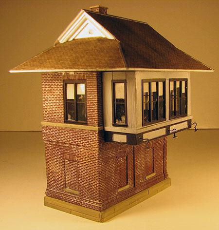 Interlocking Tower model 2