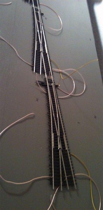 yard ladder wired