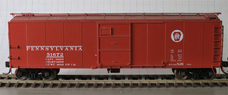 Red Caboose X29 box car