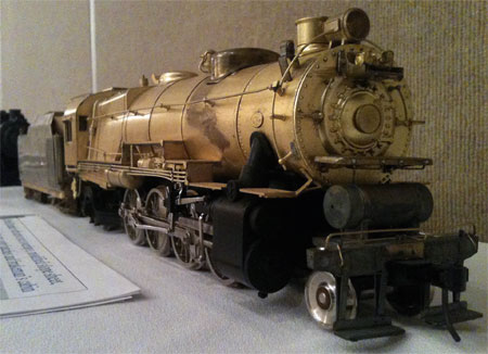 An O scale model on display at RPM-East.