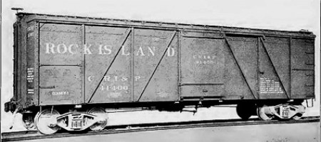Rock Island Fowler clone box car