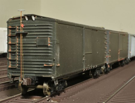 Accurail USRA double-sheathed box car.