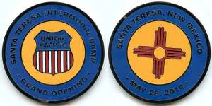 Santa Theresa Intermodal Ramp commemorative coin