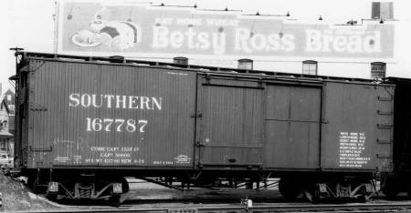 Southern Railway SU box car design.