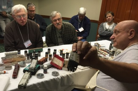 Ralph Diblasi ran an afternoon weathering presentation that captivated many.