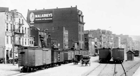 DL&W Freight Transfer Yard, Scranton, PA, September 5, 1910. Photo B0663 DL&W Company Photo Collection, Steamtown NPS.