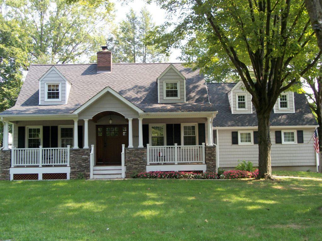 Front Entry Portico Overhang Projects In New Jersey