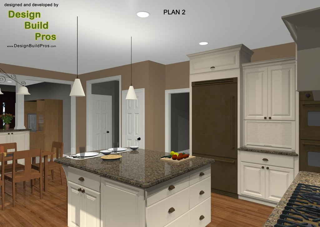 Kitchen Layouts Large Island