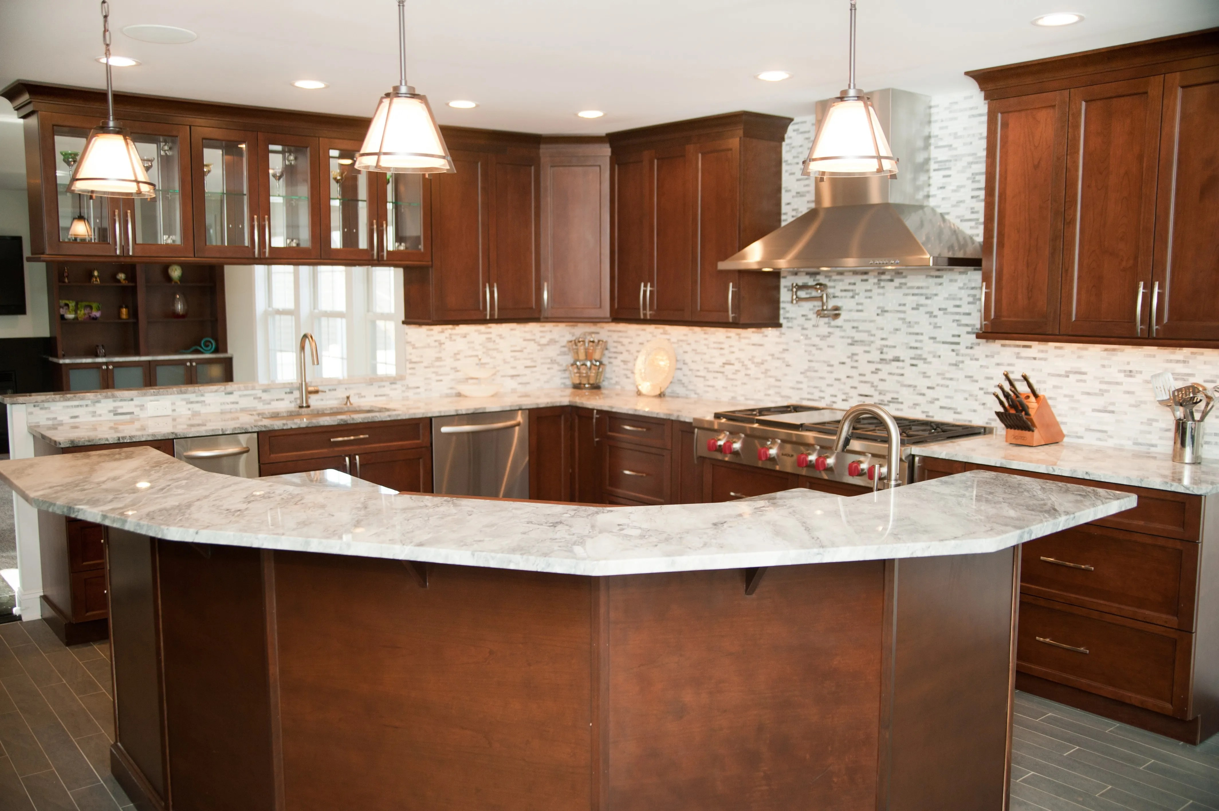 alternative kitchen backsplash material options - design build planners