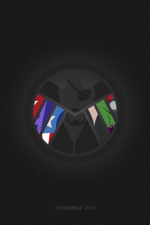 30 Avengers Minimalist Amp Abstract Digital Artworks