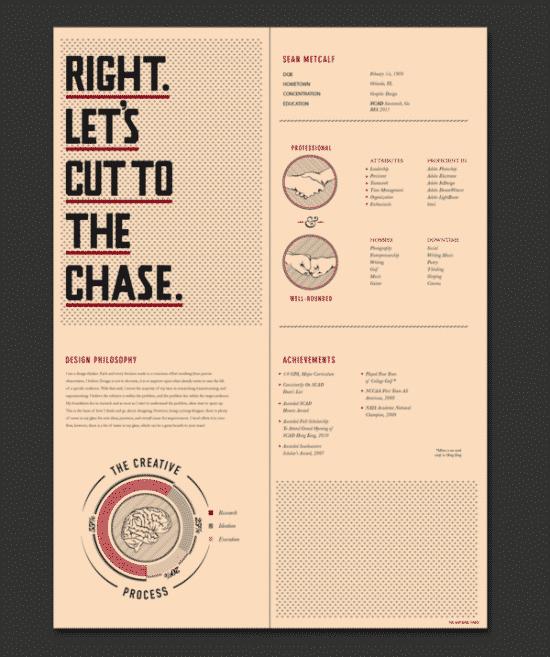 30 excellent resume designs for inspiration design bump