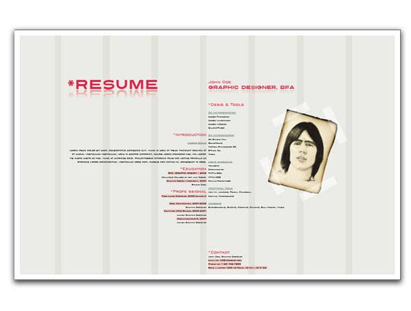 9 helpful resume design tutorials to learn designbump