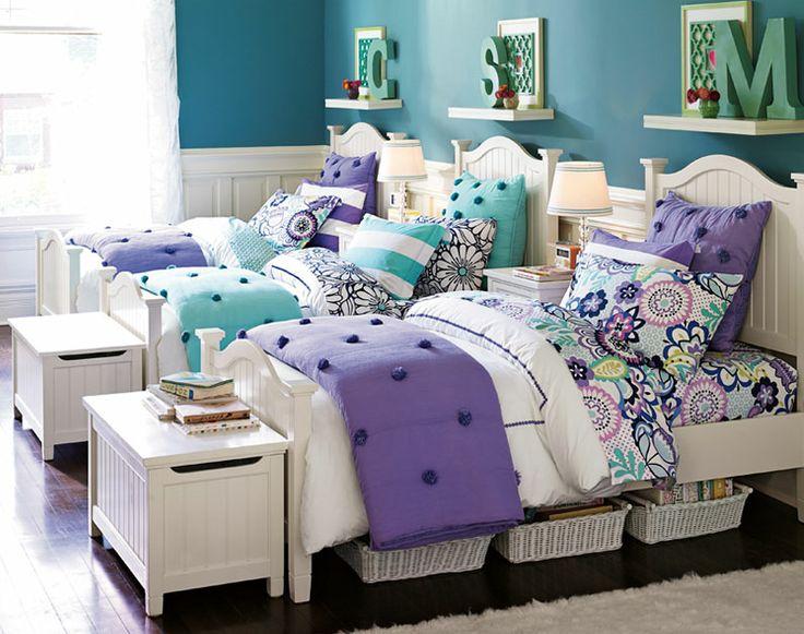 30 Smart Teenage Girls Bedroom Ideas -DesignBump