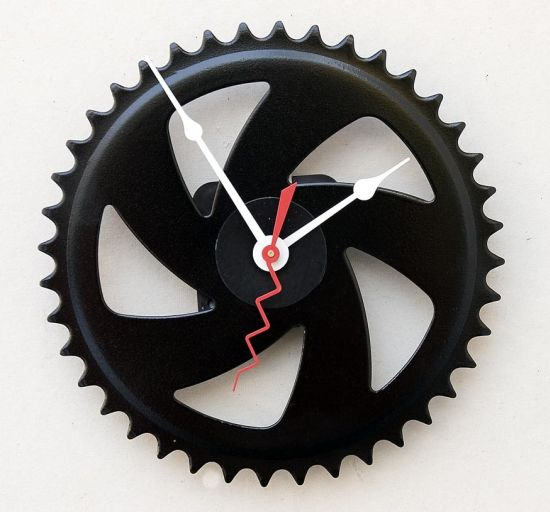 bike gear crank clock