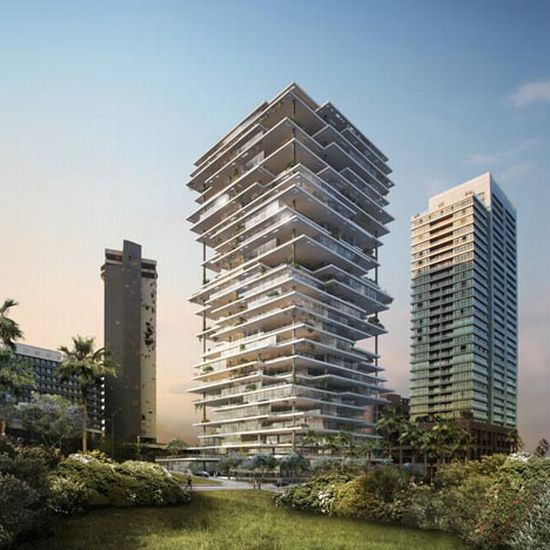 beirut terraces landmark luxury apartment building salutes lebanese