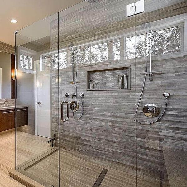 Large Walk-In Showers