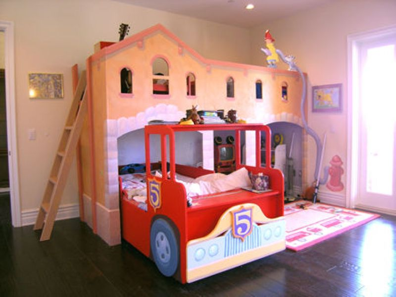 This Is Sure To Be A Hit With Boys As All Boys Seem To Be Car Crazy. This  Car Shaped Bunk Bed Can Accommodate Two Boys, Perfect For Two Brothers Or  For ...