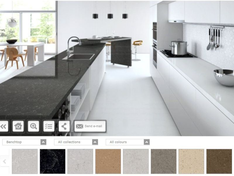 kitchen design visualiser. The Visualiser is a kitchen design software which gives you an actual feel  of the Kitchen Design Ideas Try