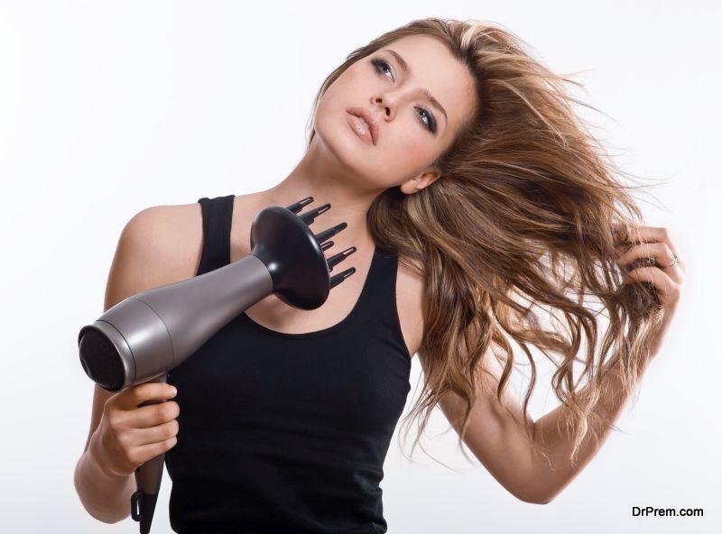 A-hair-dryer.