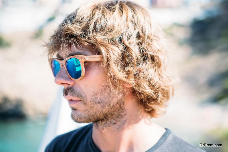 Wearing-shades