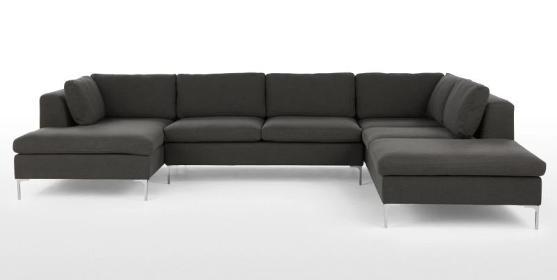 Monterosso corner sofa available in oyster grey