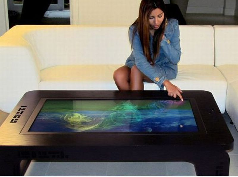 six high tech coffee table designs for