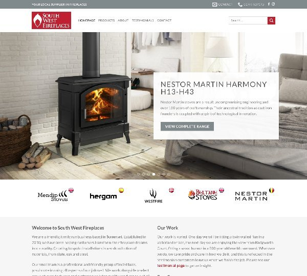 South West Fireplaces Design By Creative
