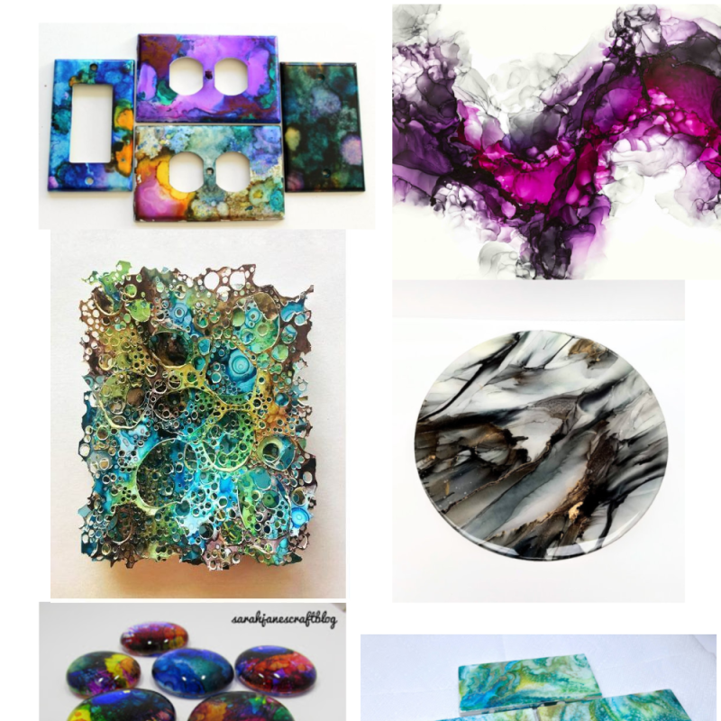 22 AMAZING Alcohol Ink Projects