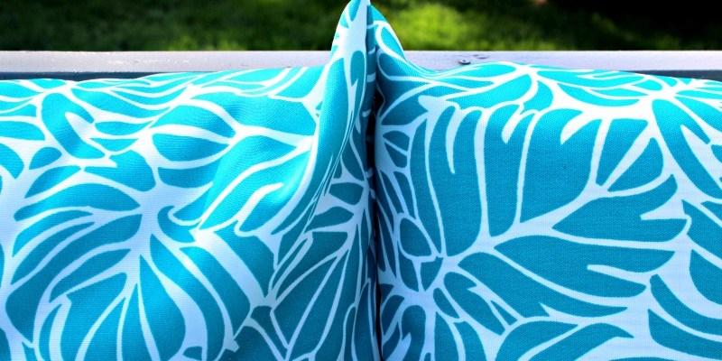 DIY Outdoor Cushions – Add a Splash of Colour