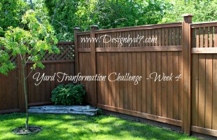 Week 4 – Yard Transformation Challenge