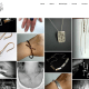 Adamson Jewellery in Belper website designed and built by High Heel Creative