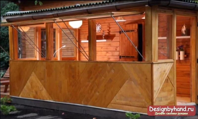 веранда на даче дизайн фото 3