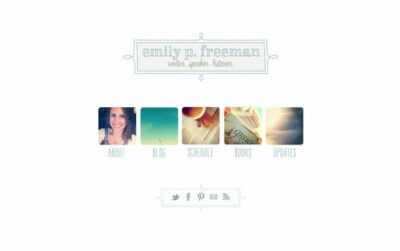 Emily Freeman Landing Page - emilypfreeman.com