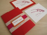 Surratt/Phillips Wedding Invitation Design