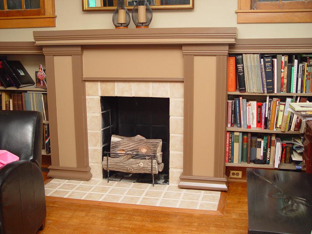 25 Stunning Fireplace Mantel Shelf Ideas