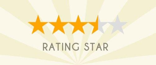 CSSでレーティング評価の星(★)を表現する方法