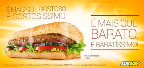 Subway Steak Churrasco FB