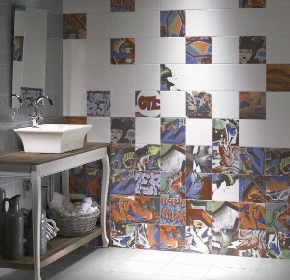 Graffiti Bathroom