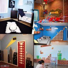 Decoração geek e inspirada em games