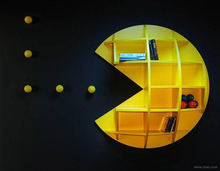 Estante Pac Man