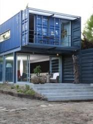 Casa Container em dois pavimentos