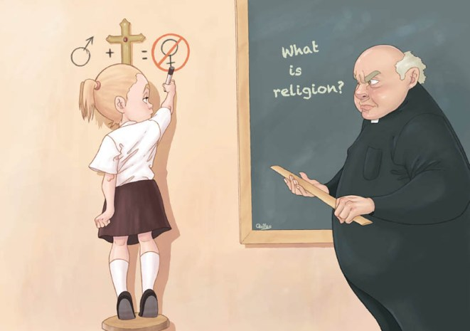 teaching_religion_by_gunsmithcat-d5kghh6