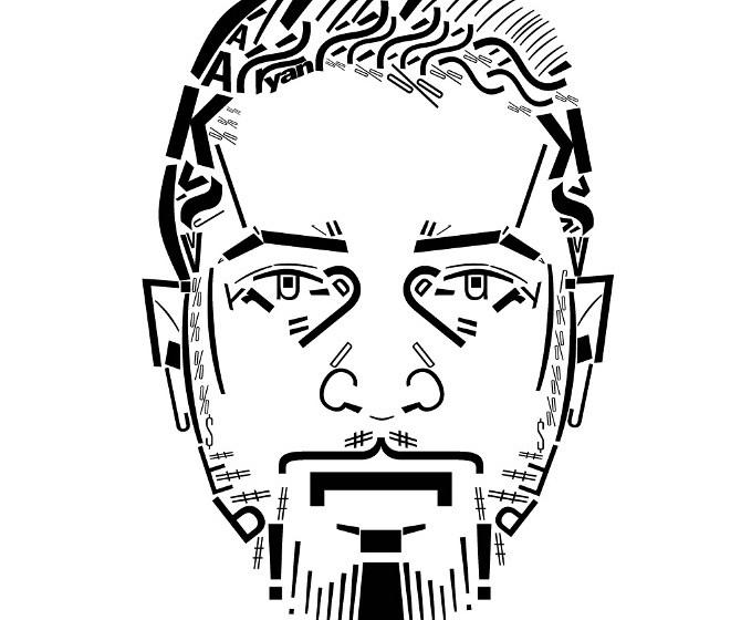 http://www.ryanbugden.com/Typography-Portrait-Series